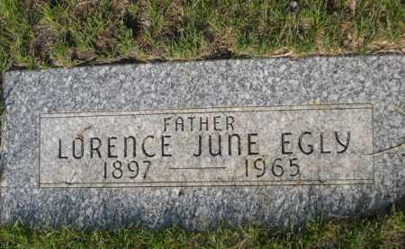 EGLY, LORENCE JUNE - Dawes County, Nebraska | LORENCE JUNE EGLY - Nebraska Gravestone Photos