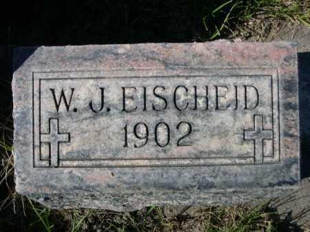 EISCHEID, W. J. - Dawes County, Nebraska | W. J. EISCHEID - Nebraska Gravestone Photos