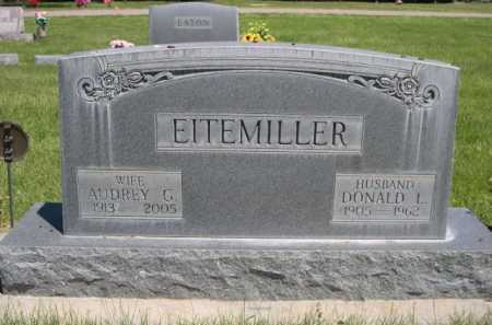 EITEMILLER, DONALD L. - Dawes County, Nebraska | DONALD L. EITEMILLER - Nebraska Gravestone Photos