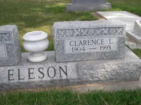 ELESON, CLARENCE L. - Dawes County, Nebraska | CLARENCE L. ELESON - Nebraska Gravestone Photos