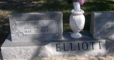 ELLIOTT, ETHEL L. - Dawes County, Nebraska | ETHEL L. ELLIOTT - Nebraska Gravestone Photos