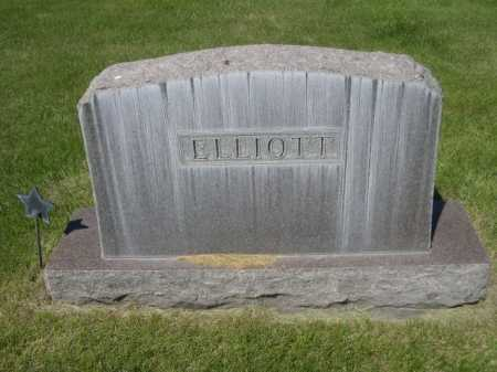 ELLIOTT, FAMILY - Dawes County, Nebraska | FAMILY ELLIOTT - Nebraska Gravestone Photos