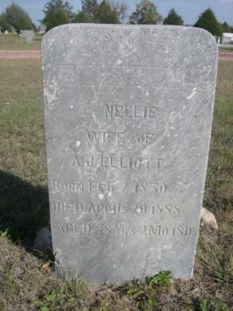 ELLIOTT, NELLIE - Dawes County, Nebraska | NELLIE ELLIOTT - Nebraska Gravestone Photos