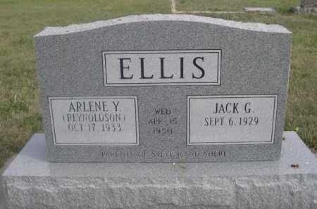 REYNOLDSON ELLIS, ARLENE Y. - Dawes County, Nebraska | ARLENE Y. REYNOLDSON ELLIS - Nebraska Gravestone Photos