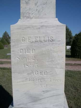 ELLIS, C.E. - Dawes County, Nebraska | C.E. ELLIS - Nebraska Gravestone Photos