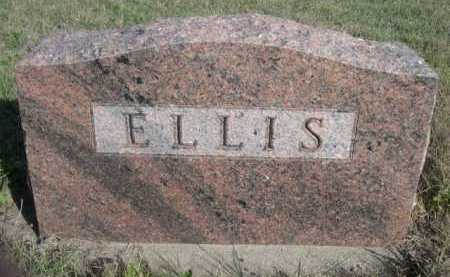 ELLIS, FAMILY - Dawes County, Nebraska | FAMILY ELLIS - Nebraska Gravestone Photos