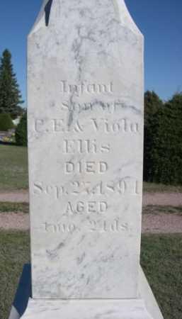 ELLIS, INFANT SON OF C.E. & VIOLA - Dawes County, Nebraska   INFANT SON OF C.E. & VIOLA ELLIS - Nebraska Gravestone Photos