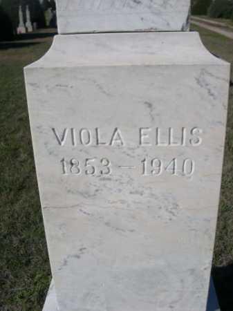 ELLIS, VIOLA - Dawes County, Nebraska | VIOLA ELLIS - Nebraska Gravestone Photos