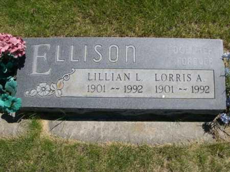 ELLISON, LORRIS A. - Dawes County, Nebraska | LORRIS A. ELLISON - Nebraska Gravestone Photos