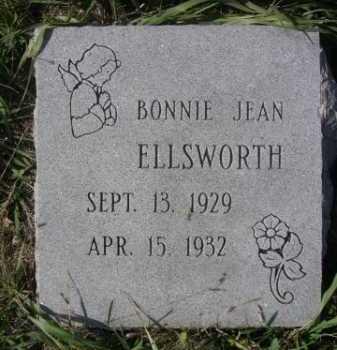 ELLSWORTH, BONNIE JEAN - Dawes County, Nebraska | BONNIE JEAN ELLSWORTH - Nebraska Gravestone Photos