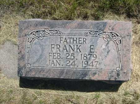 ELMER, FRANK E. - Dawes County, Nebraska   FRANK E. ELMER - Nebraska Gravestone Photos