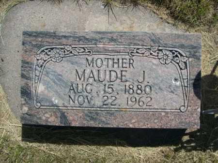 ELMER, MAUDE J. - Dawes County, Nebraska | MAUDE J. ELMER - Nebraska Gravestone Photos