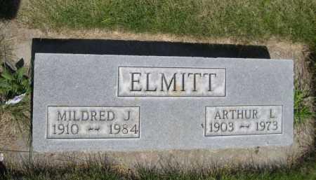 ELMITT, ARTHUR L. - Dawes County, Nebraska | ARTHUR L. ELMITT - Nebraska Gravestone Photos