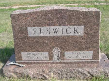 ELSWICK, ELLEN M. - Dawes County, Nebraska   ELLEN M. ELSWICK - Nebraska Gravestone Photos