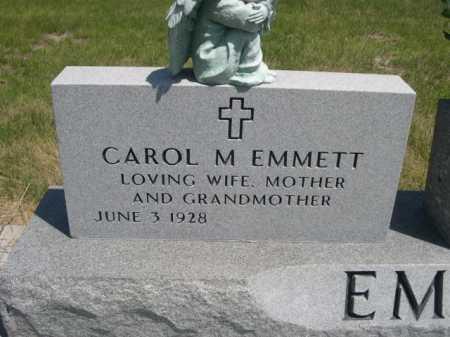 EMMETT, CAROL M. - Dawes County, Nebraska | CAROL M. EMMETT - Nebraska Gravestone Photos