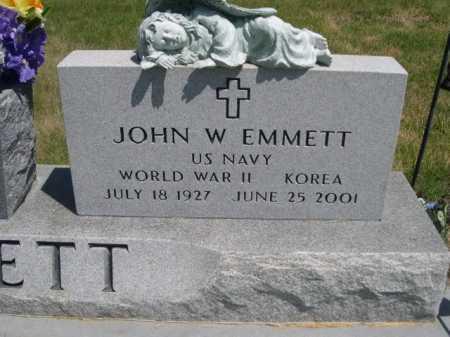 EMMETT, JOHN W. - Dawes County, Nebraska | JOHN W. EMMETT - Nebraska Gravestone Photos
