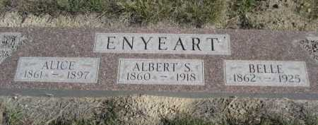 ENYEART, ALBERT S. - Dawes County, Nebraska | ALBERT S. ENYEART - Nebraska Gravestone Photos
