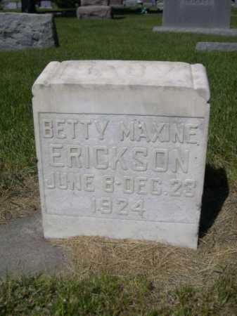 ERICKSON, BETTY MAXINE - Dawes County, Nebraska | BETTY MAXINE ERICKSON - Nebraska Gravestone Photos