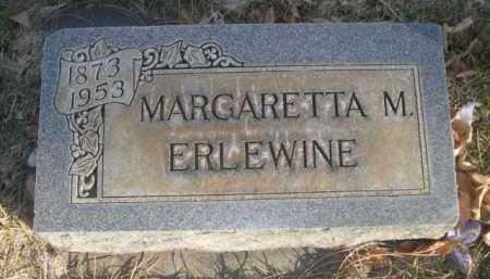 ERLEWINE, MARGARETTA M. - Dawes County, Nebraska   MARGARETTA M. ERLEWINE - Nebraska Gravestone Photos