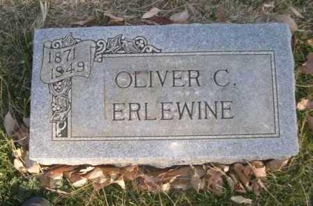 ERLEWINE, OLIVER C. - Dawes County, Nebraska | OLIVER C. ERLEWINE - Nebraska Gravestone Photos