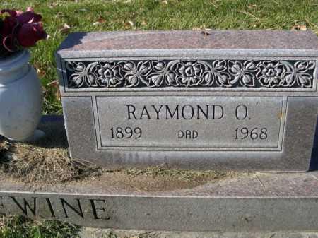ERLEWINE, RAYMOND O. - Dawes County, Nebraska | RAYMOND O. ERLEWINE - Nebraska Gravestone Photos