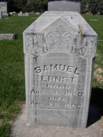 ERNST, SAMUEL - Dawes County, Nebraska   SAMUEL ERNST - Nebraska Gravestone Photos