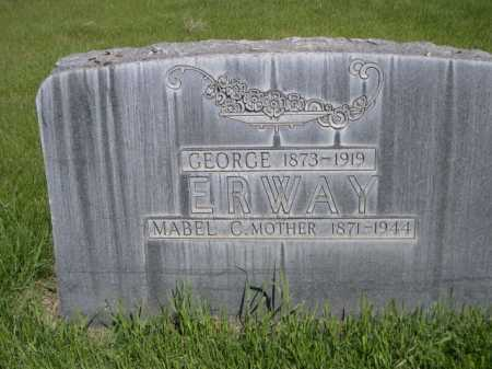 ERWAY, GEORGE - Dawes County, Nebraska | GEORGE ERWAY - Nebraska Gravestone Photos