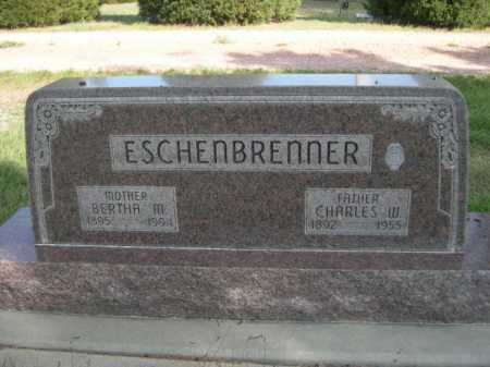 ESCHENBRENNER, BERTHA M. - Dawes County, Nebraska | BERTHA M. ESCHENBRENNER - Nebraska Gravestone Photos