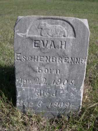 ESCHENBRENNER, EVA H. - Dawes County, Nebraska | EVA H. ESCHENBRENNER - Nebraska Gravestone Photos