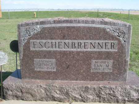ESCHENBRENNER, GEORGE - Dawes County, Nebraska | GEORGE ESCHENBRENNER - Nebraska Gravestone Photos