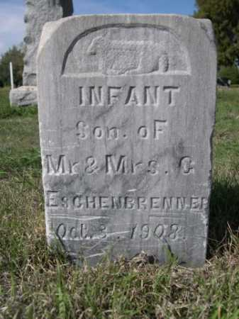 ESCHENBRENNER, INFANAT SON OF MR. & MRS. G. - Dawes County, Nebraska | INFANAT SON OF MR. & MRS. G. ESCHENBRENNER - Nebraska Gravestone Photos