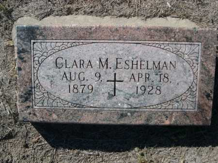 ESHELMAN, CLARA M. - Dawes County, Nebraska | CLARA M. ESHELMAN - Nebraska Gravestone Photos