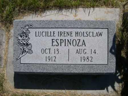 ESPINOZA, LUCILLE IRENE - Dawes County, Nebraska | LUCILLE IRENE ESPINOZA - Nebraska Gravestone Photos