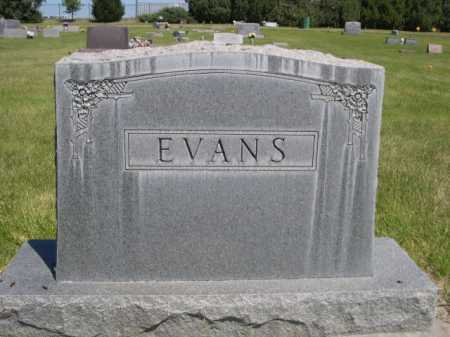 EVANS, FAMILY - Dawes County, Nebraska | FAMILY EVANS - Nebraska Gravestone Photos