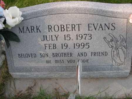 EVANS, MARK ROBERT - Dawes County, Nebraska | MARK ROBERT EVANS - Nebraska Gravestone Photos