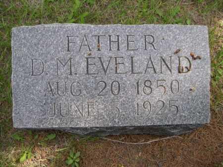 EVELAND, D. M. - Dawes County, Nebraska | D. M. EVELAND - Nebraska Gravestone Photos