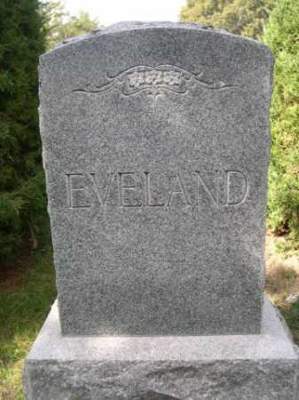 EVELAND, FAMILY - Dawes County, Nebraska   FAMILY EVELAND - Nebraska Gravestone Photos