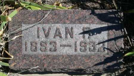 EVERSON, IVAN F. - Dawes County, Nebraska | IVAN F. EVERSON - Nebraska Gravestone Photos