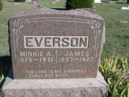 EVERSTON, JAMES - Dawes County, Nebraska | JAMES EVERSTON - Nebraska Gravestone Photos