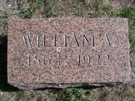 EVERSUEL, WILLIAM A. - Dawes County, Nebraska | WILLIAM A. EVERSUEL - Nebraska Gravestone Photos