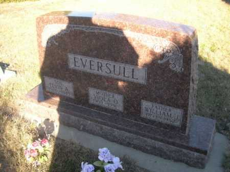 EVERSULL, WILLIAM J. - Dawes County, Nebraska | WILLIAM J. EVERSULL - Nebraska Gravestone Photos