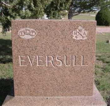 EVERSULL, FAMILY - Dawes County, Nebraska   FAMILY EVERSULL - Nebraska Gravestone Photos