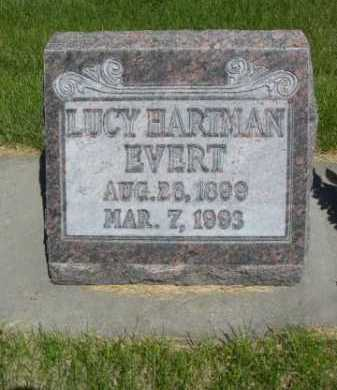 HARTMAN EVERT, LUCY - Dawes County, Nebraska | LUCY HARTMAN EVERT - Nebraska Gravestone Photos