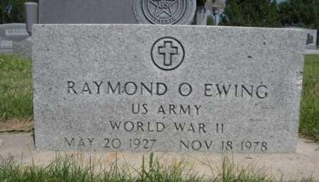 EWING, RAYMOND O. - Dawes County, Nebraska | RAYMOND O. EWING - Nebraska Gravestone Photos