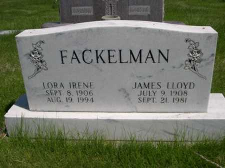 FACKELMAN, JAMES LLOYD - Dawes County, Nebraska | JAMES LLOYD FACKELMAN - Nebraska Gravestone Photos