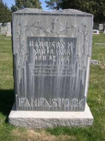 FAHENSTOCK, HARRISON M. - Dawes County, Nebraska | HARRISON M. FAHENSTOCK - Nebraska Gravestone Photos