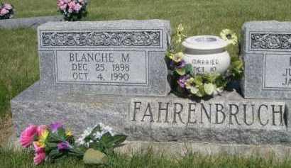 FAHRENBRUCH, BLANCH M. - Dawes County, Nebraska | BLANCH M. FAHRENBRUCH - Nebraska Gravestone Photos