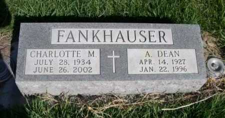 FANKHAUSER, CHARLOTTE M. - Dawes County, Nebraska   CHARLOTTE M. FANKHAUSER - Nebraska Gravestone Photos