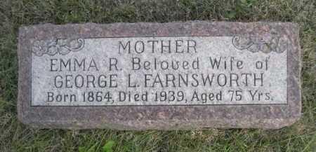 FARNSWORTH, EMMA R. - Dawes County, Nebraska | EMMA R. FARNSWORTH - Nebraska Gravestone Photos