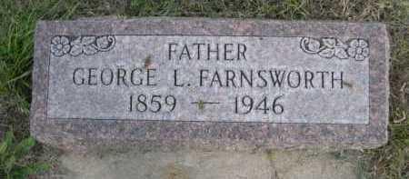 FARNSWORTH, GEORGE L. - Dawes County, Nebraska   GEORGE L. FARNSWORTH - Nebraska Gravestone Photos